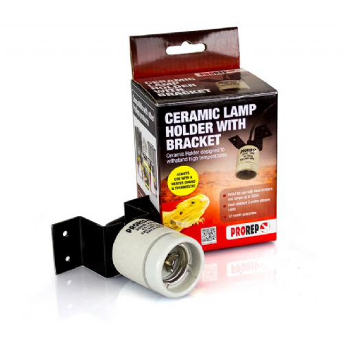 PRO REP CERAMIC LAMP HOLDER WITH BRACKET